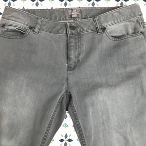 50%OFF EXPRESS Gray Skinny Cargo Ankle Jeans